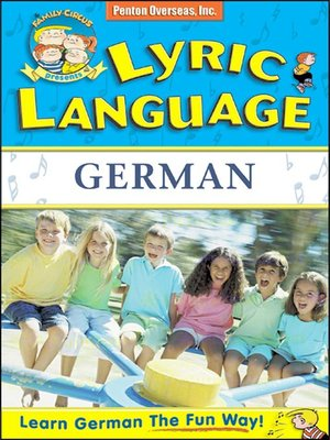 cover image of Lyric Language German