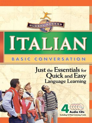 cover image of Global Access Italian Basic Conversation