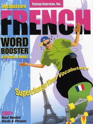 cover image of VocabuLearn® French Word Booster