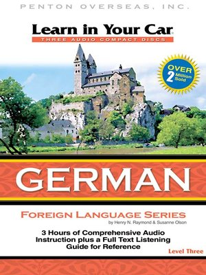 cover image of Learn in Your Car German Level Three