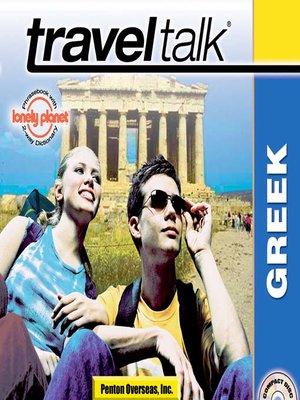 cover image of Traveltalk® Greek