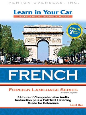 cover image of Learn in Your Car French Level One