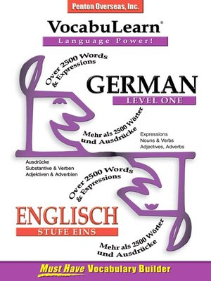 cover image of VocabuLearn® German Level One