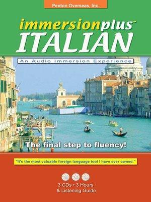 cover image of Immersionplus<sup>TM</sup> Italian