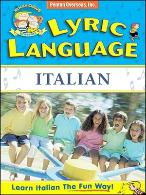 cover image of Lyric Language Italian