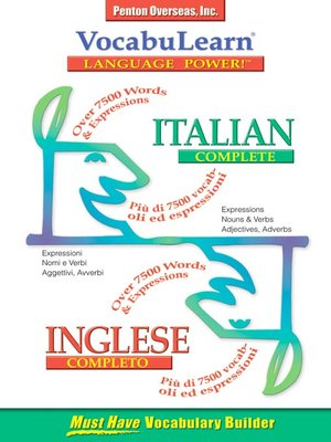 cover image of VocabuLearn® Italian Complete