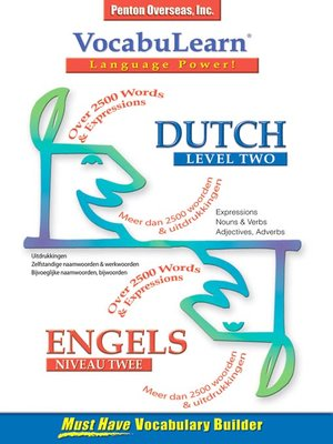 cover image of VocabuLearn® Dutch Level Two