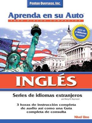 cover image of Aprenda en su Auto Inglés Nivel Uno