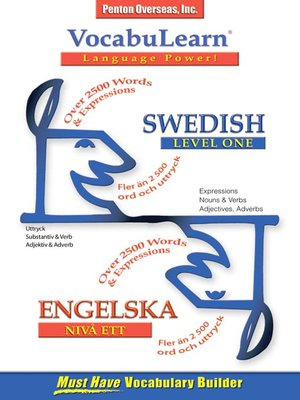 cover image of VocabuLearn® Swedish Level One
