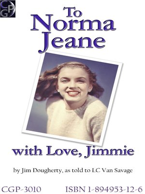 cover image of To Norma Jeane With Love, Jimmie