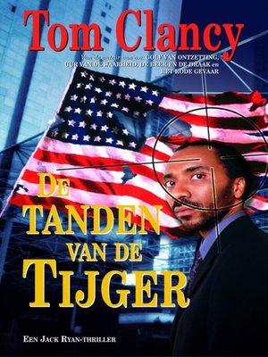 cover image of De tanden van de tijger