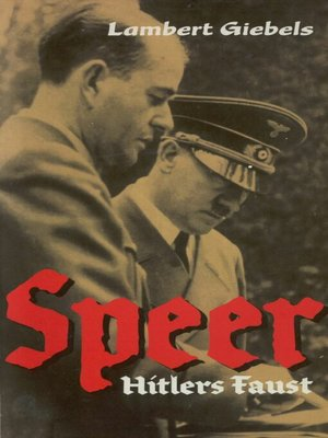 cover image of Speer