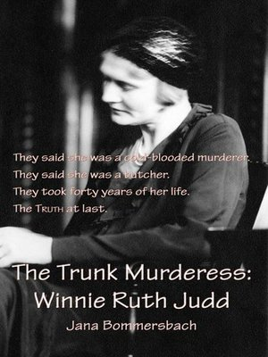 cover image of The Trunk Murderess