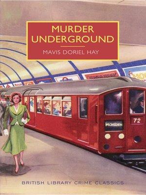 cover image of Murder Underground