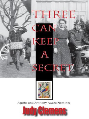 cover image of Three Can Keep a Secret