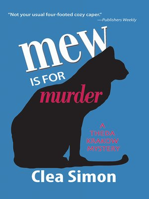 cover image of Mew is for Murder