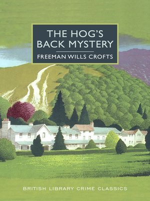 cover image of The Hog's Back Mystery