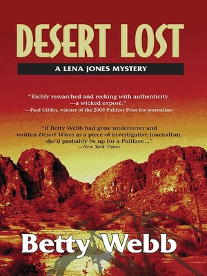 cover image of Desert Lost
