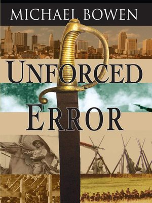 cover image of Unforced Error