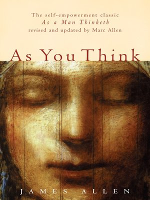 cover image of As You Think