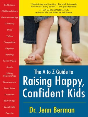 cover image of A to Z Guide to Raising Happy, Confident Kids