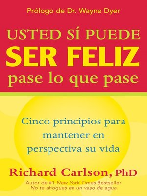 cover image of Usted si puede ser feliz pase lo que pase