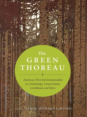 cover image of The Green Thoreau