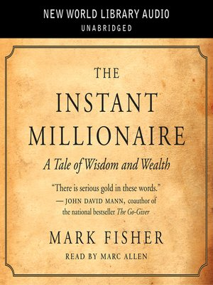 instant millionaire in english pdf mark fisher