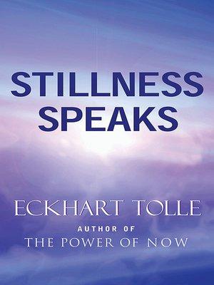 cover image of Stillness Speaks