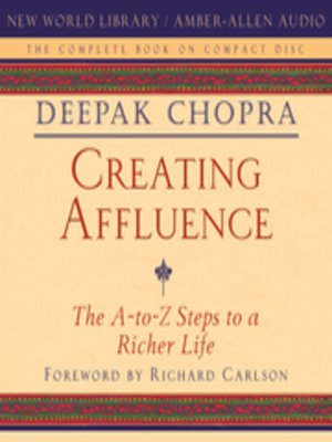 cover image of Creating Affluence
