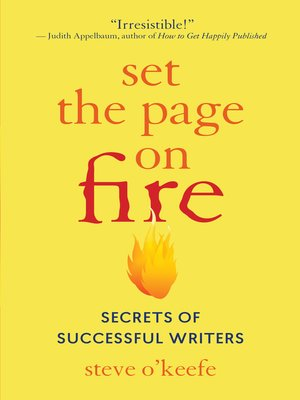 cover image of Set the Page on Fire
