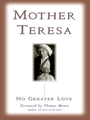 cover image of No Greater Love