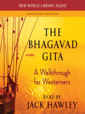 cover image of The Bhagavad Gita