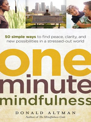cover image of One-Minute Mindfulness