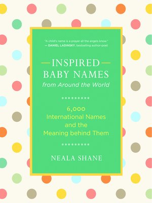 cover image of Inspired Baby Names from Around the World