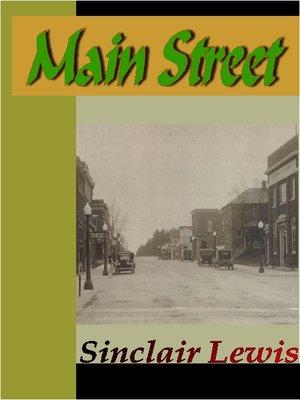 Main Street: Biography: Sinclair Lewis