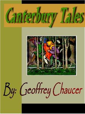 Canterbury ebook tales pdf