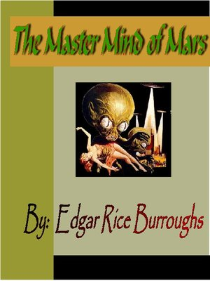 cover image of The Master Mind of Mars