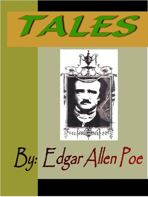 cover image of TALES by Edgar Allen Poe