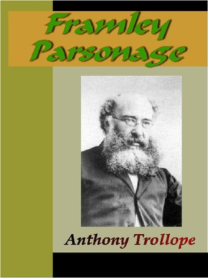 cover image of Framley Parsonage