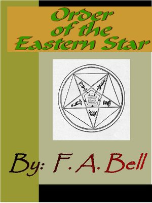 Order of eastern star ritual book pdf