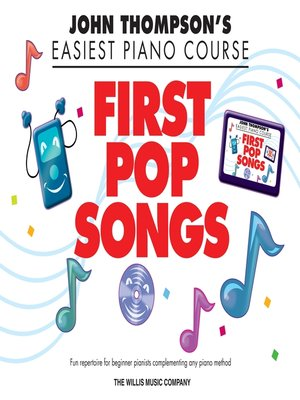 cover image of First Pop Songs (Songbook)