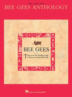 cover image of Bee Gees Anthology (Songbook)