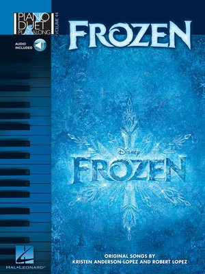 cover image of Frozen Piano Duet Songbook
