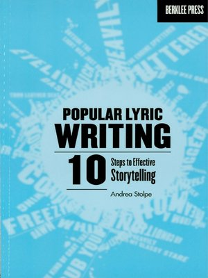 cover image of Popular Lyric Writing