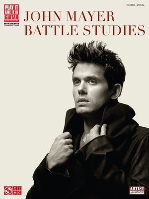cover image of John Mayer--Battle Studies (Songbook)