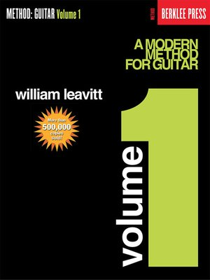 cover image of A Modern Method for Guitar--Volume 1