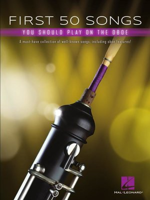 cover image of First 50 Songs You Should Play on Oboe