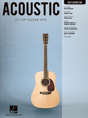 cover image of Acoustic (Songbook)