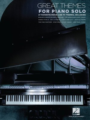 cover image of Great Themes for Piano Solo